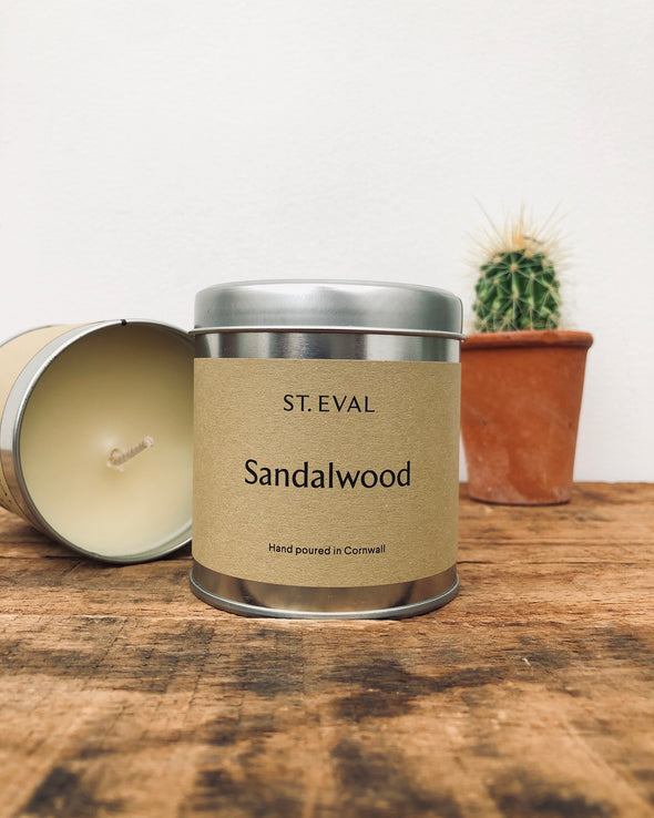 Scented Tin Candle // St Eval