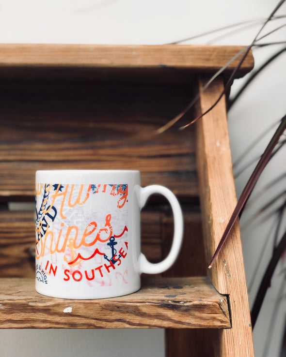 Graphic Print // Ceramic Mug