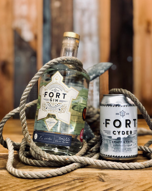 Portsmouth Distillery // Fort Gin