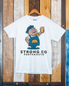 Little Bricky // Men's Tee & Beer Mats
