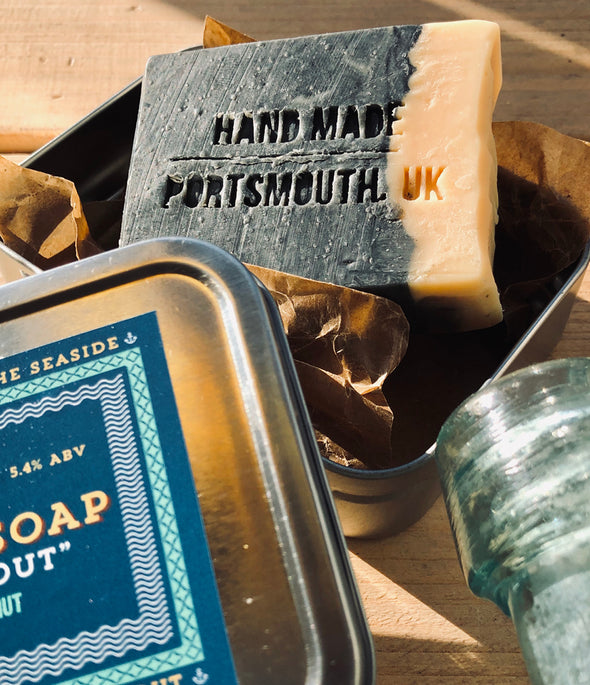 Stout & About // 100g Soap Bar