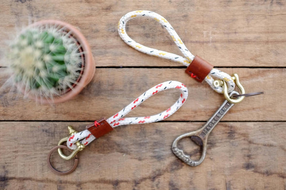 R&A // Rope Key Chain