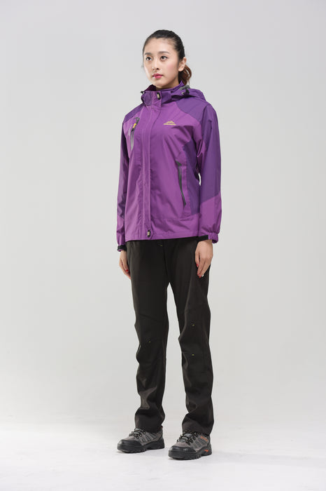 Women's Water- & Windproof Jacket purple