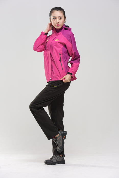 Side of the Women's Water- & Windproof Jacket