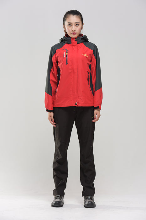 Red Women's Water- & Windproof Jacket