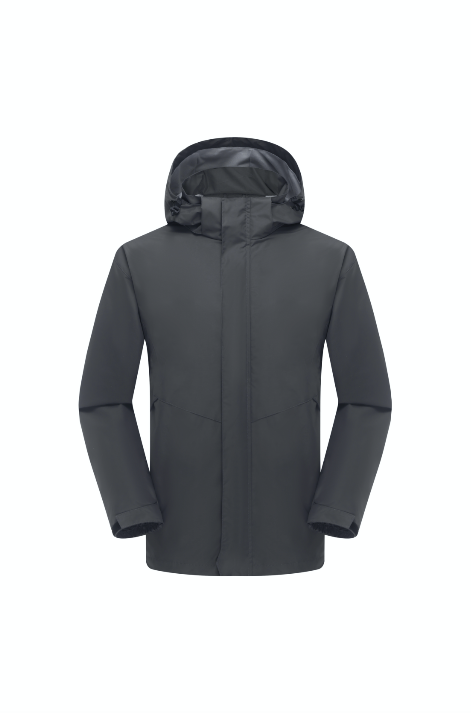Men's Wind- & Waterproof Jacket - Grey