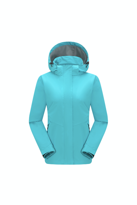 Aqua Women's Wind- & Waterproof Jacket