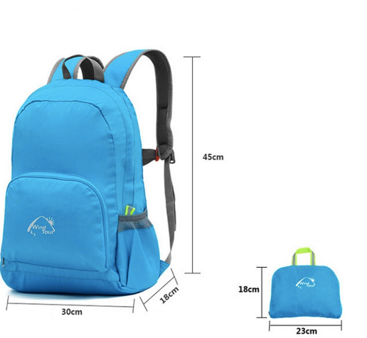Size on Ultralight Foldable Backpack 25L
