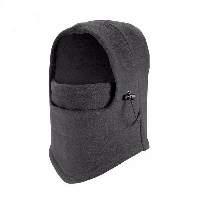 Grey Unisex Fleece Balaclava