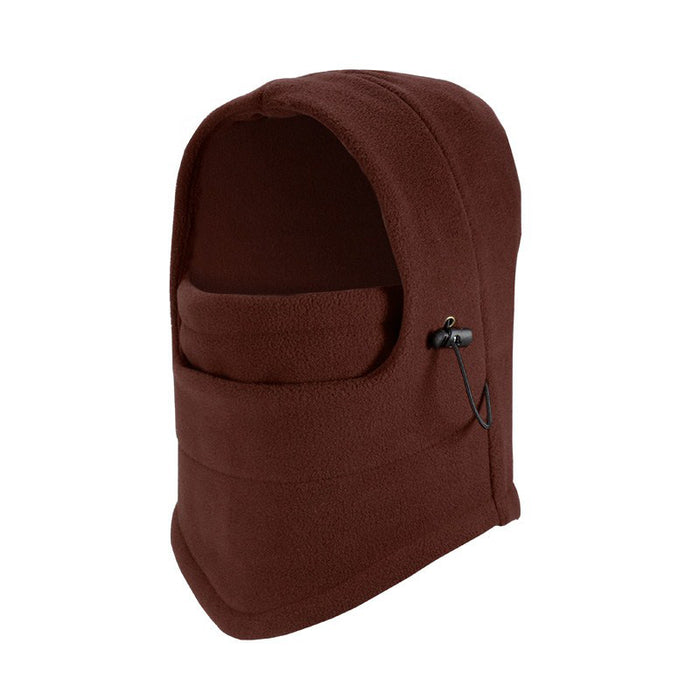 Wine Red Fleece Balaclava