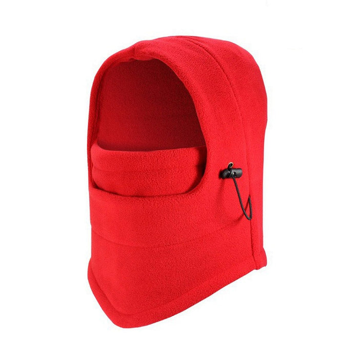 Red Fleece Balaclava
