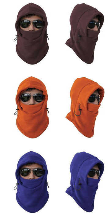 3 types of Fleece Balaclava