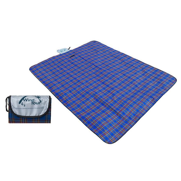 Blue Camping blanket