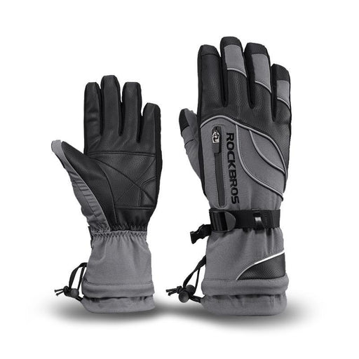 Grey Waterproof Gloves -30 Degree