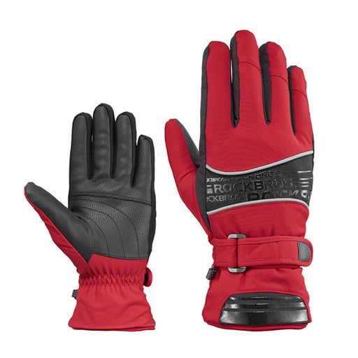 Red Warm Gloves