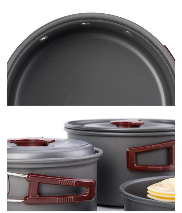 Outdoor Cooking Set - pans