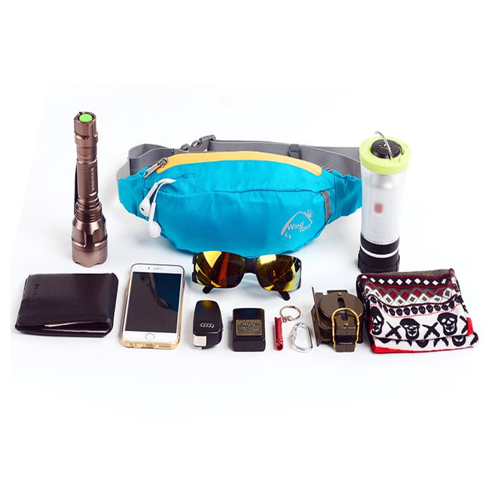 things that fit in Water Repellent Fanny Pack