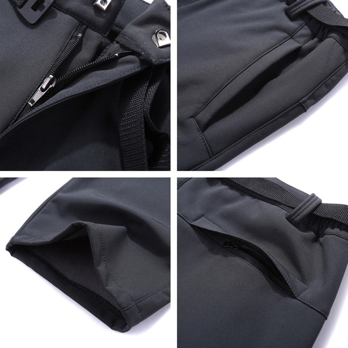 Women's Waterproof Softshell Pants details 4