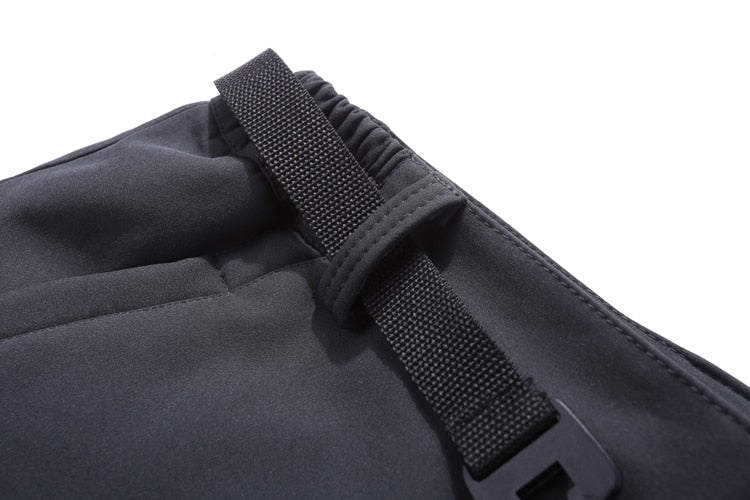Men Plain Softshell Pants