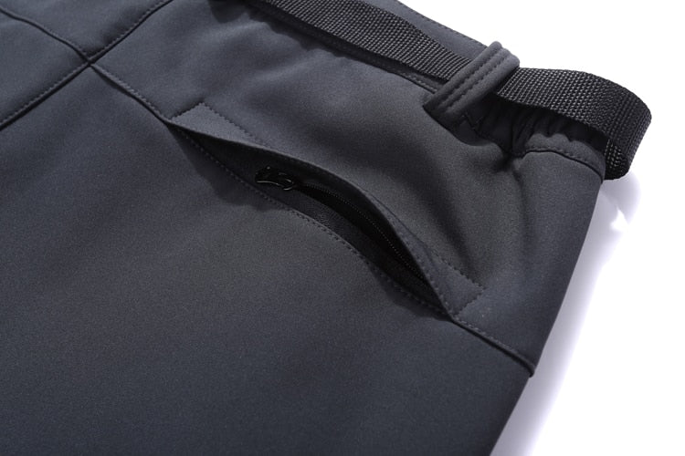Rear of the Women's Waterproof Softshell Pants