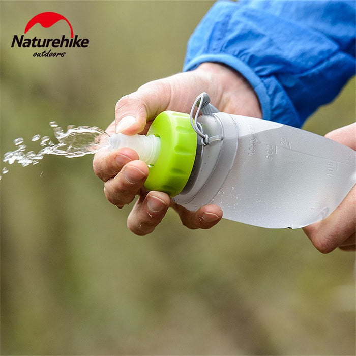 Folding Waterbottle 500ml - in nature