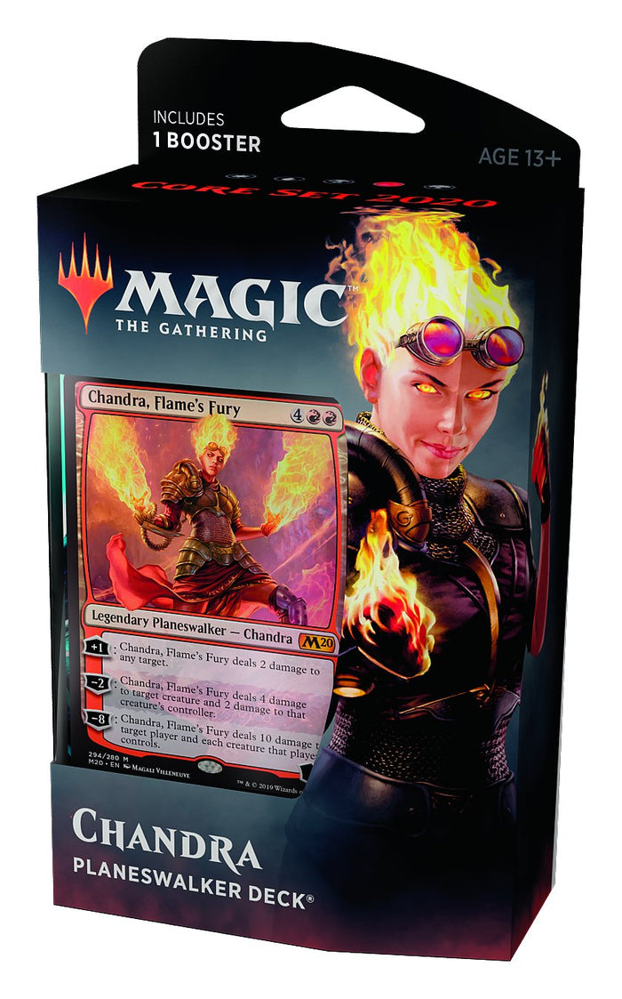MTG: Core Set 2020 Chandra Planeswalker Deck