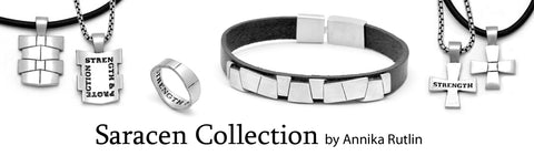 Annika Rutlin sterling silver Saracen jewellery collection