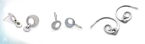 Annika Rutlin modern circle jewellery inspired by the solstice sterling silver