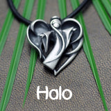 Halo, angel inspired collection in solid silver by award winning jeweller Annika Rutlin