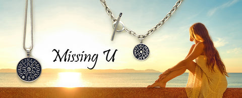 missing u jewelry sentimental memorial token silver designer jewellery