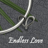 Endless love infinity heart collection in silver by award winning designer Annika Rutlin