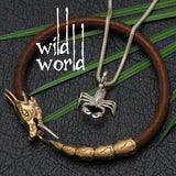 wild world creative creatures designer silver jewellery collection dragons scorpions