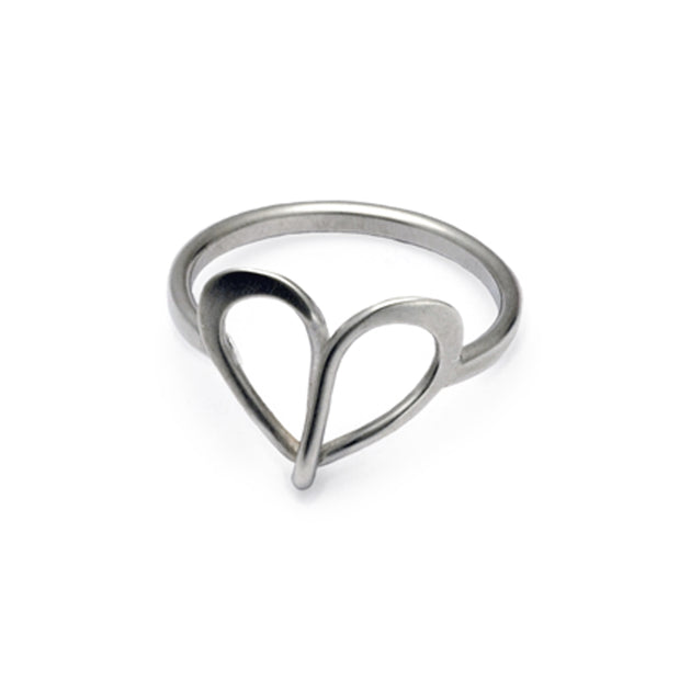 Endless Love heart ring ELR30