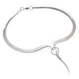 Annika Rutlin dramatic articulated torc necklace in solid silver