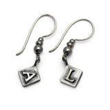 Alphabet hookwire earrings ALHW