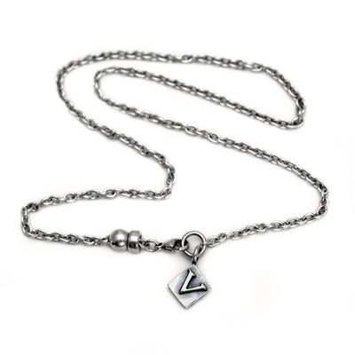 Alphabet Single Charm Letter Necklace ALN