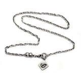 Alphabet Single Charm Number Necklace ANN