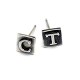 Alphabet stud earrings ALSE