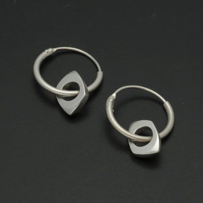 Cirque off square on sleeper earrings CE61PL