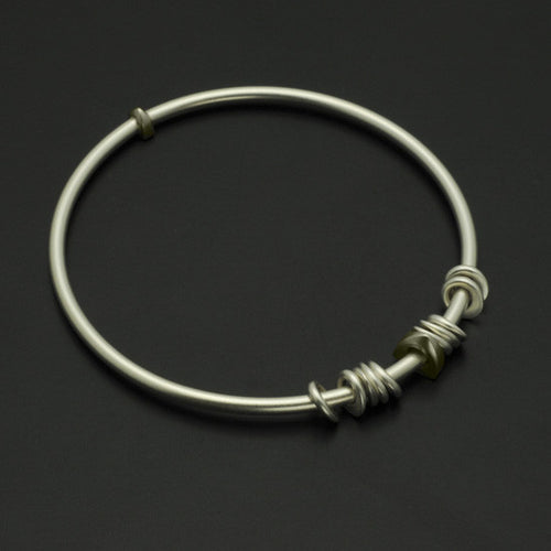Idun Round Bead Bangle IB84SL