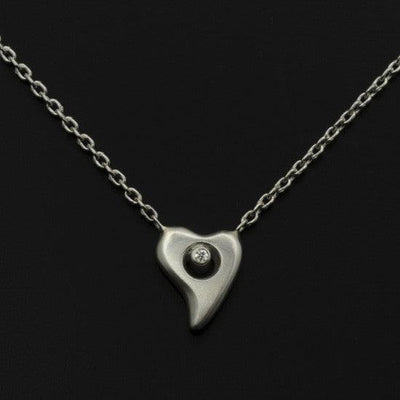 Amitie heart diamond necklace ANH51