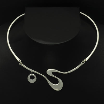 Solstice 3 part torc necklace ON50T