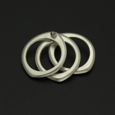 Idun silver triple ring IR05SS