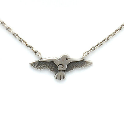 Raven bird trace chain necklace RN74