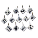 Alphabet Triple Charm Necklace A3N