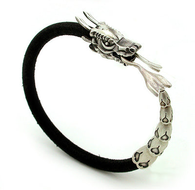 Wild World Dragon Leather Bracelet DLB1