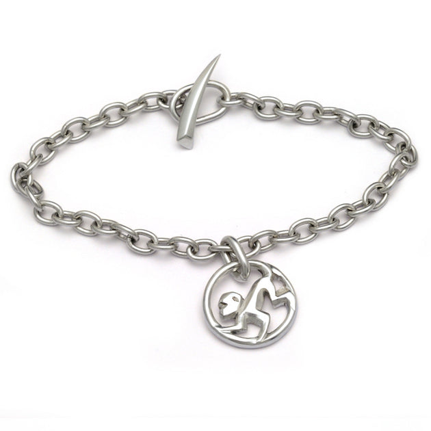 YRM-BC4-Year-of-the-Monkey-bracelet- chain - chinese-zodiac-