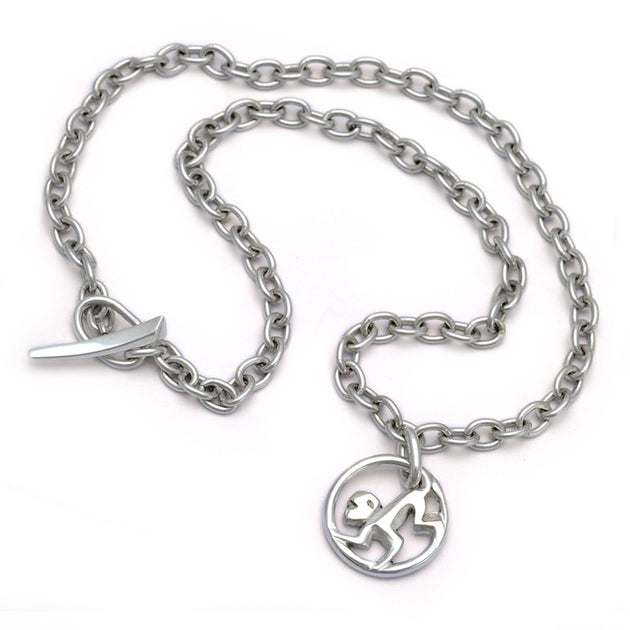 Year of the Monkey chain necklace YRM-NC3