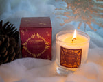 Clear Scented Candle with Luxury Box - Christmas Spice