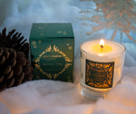 Clear Scented Candle with Luxury Box - Winter Pine